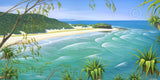 STRADDIE - FRENCHMANS BEACH 675 x 326mm