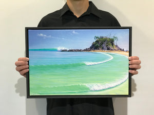 THE PASS - BYRON BAY  495 x 335mm