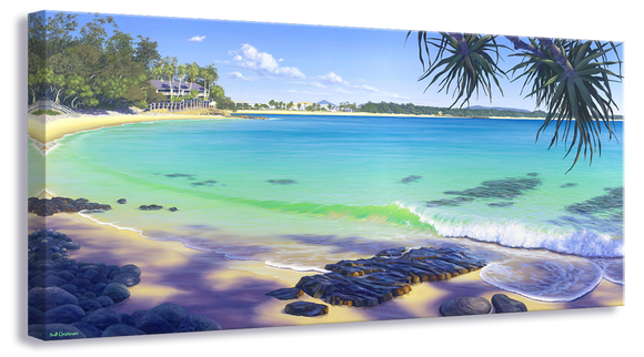 LITTLE COVE MORNING NOOSA 675 x 325mm