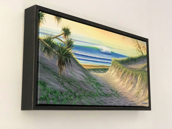Daybreak - Framed Canvas Mini