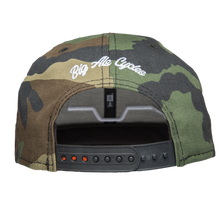 Big Al's Bar logo Camo New Era snap back Hat