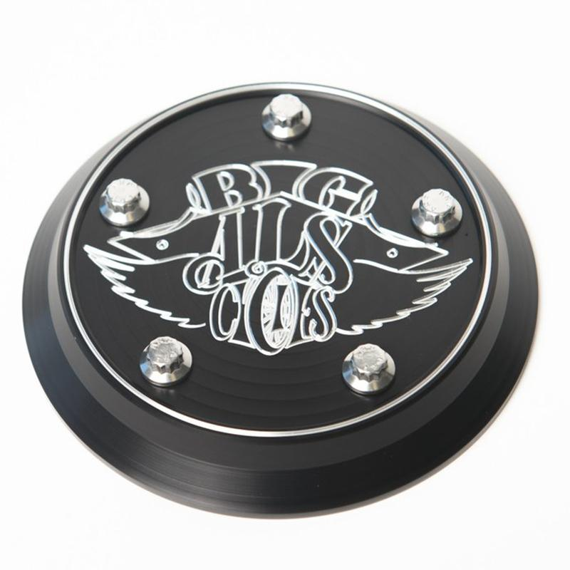 Big Al's Cycles air cleaner cover