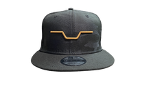 Big Al's Bar logo Black camo/ Brown New Era snap back Hat