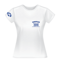 2019 - European Championships - Dry wicking Tour / Training Shirt (Ladies) - White (no print on back)