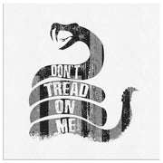 Don't Tread On Me - Square Canvas Canvas Wall Art 2 teelaunch 8 x 8