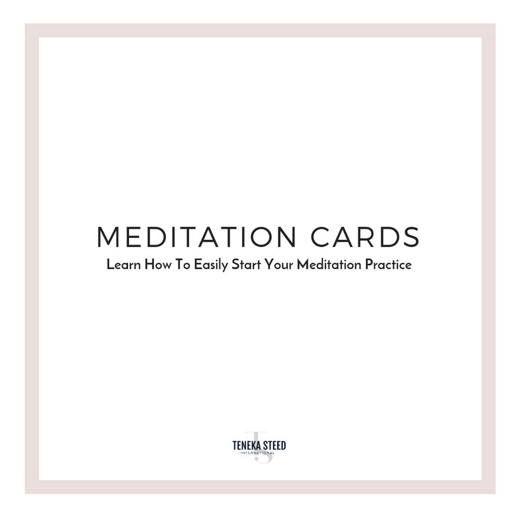 Digital Meditation Cards