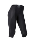 Womens Mid-Rise Compression 3/4 Tight - Lokamo