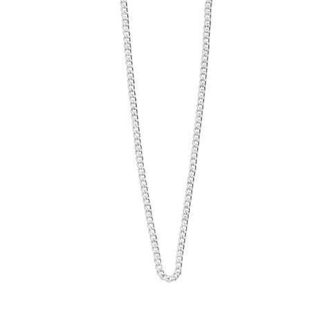 "Long Necklace Chain 22-25"" Sterling Silver - Lokamo"