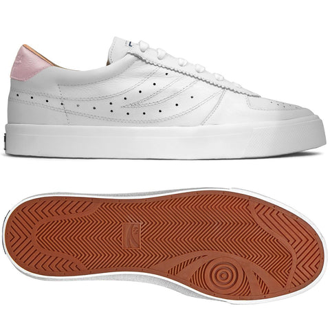 Superga 2846 sneaker - white pink candy
