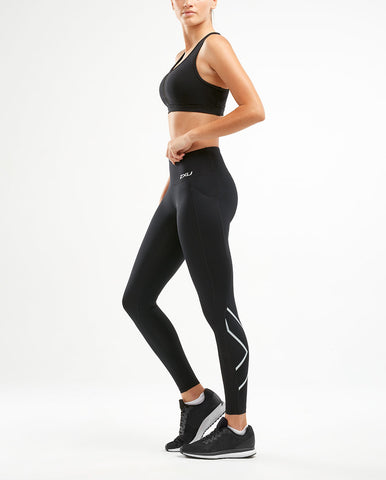 Mid Rise Pocket Compression Tights - Lokamo