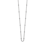"Bespoke Ball Chain 16"" to 18"" Sterling Silver - Lokamo"