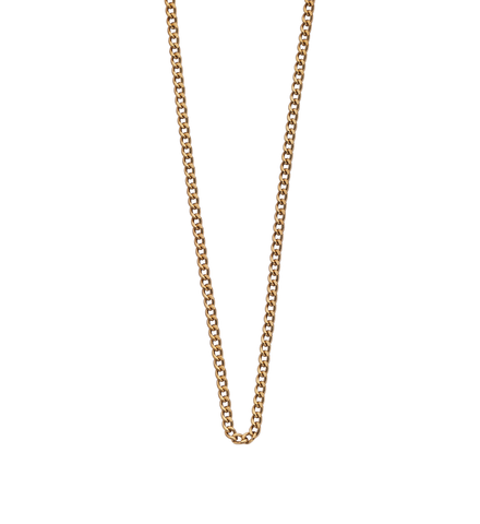 "Necklace Chain 16"" to 18"" 18K Gold Vermeil - Lokamo"
