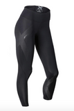 Womens Mid-Rise 2XU Compression Full Length Tight - Lokamo