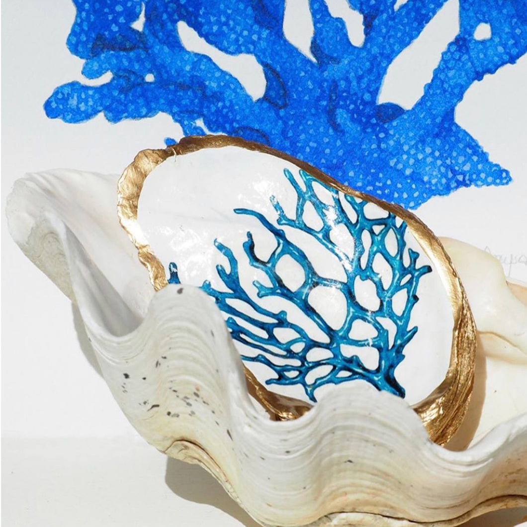 Dark Blue Sea Fan