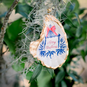 The Christmas Pagoda  – Oyster Ornament