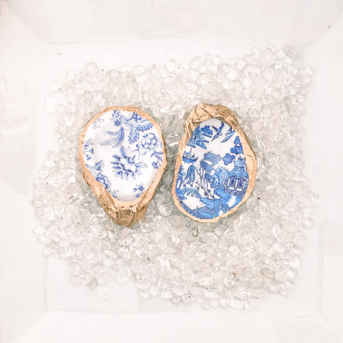 Blue and White China Patterns