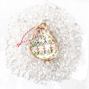 The Little Drummer Boy  – Oyster Ornament