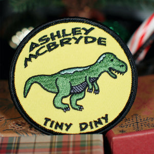 """Tiny Diny"" Patch"