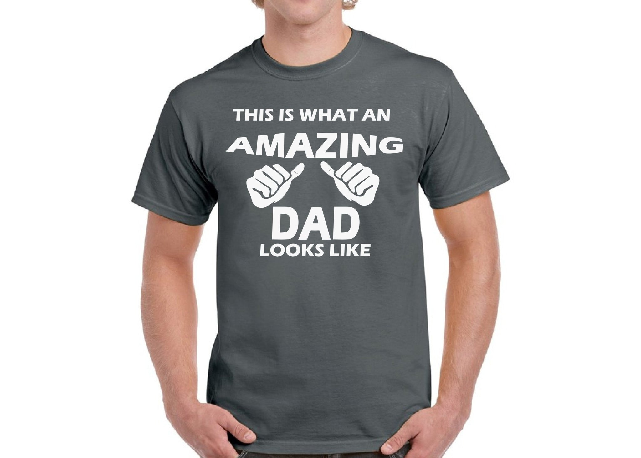 af797a04 Amazing Dad, Dad T-Shirt - Men's T-Shirt | Short Sleeve | Tee ...