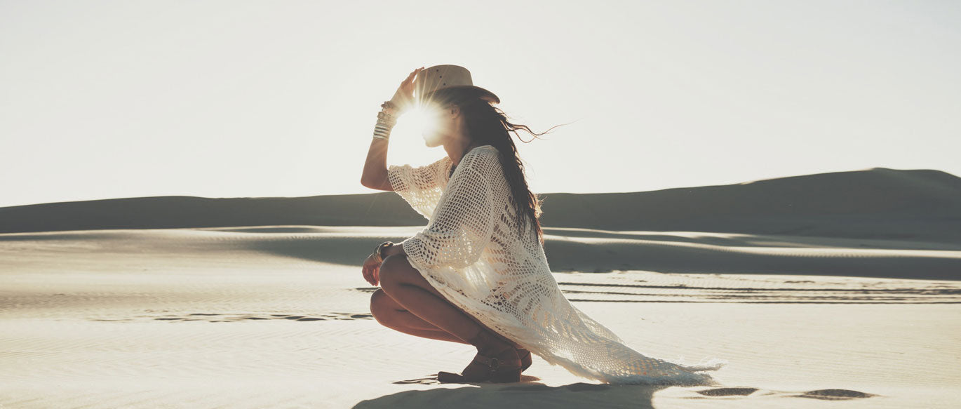 White Dunes Gypsy Hues Lookbook