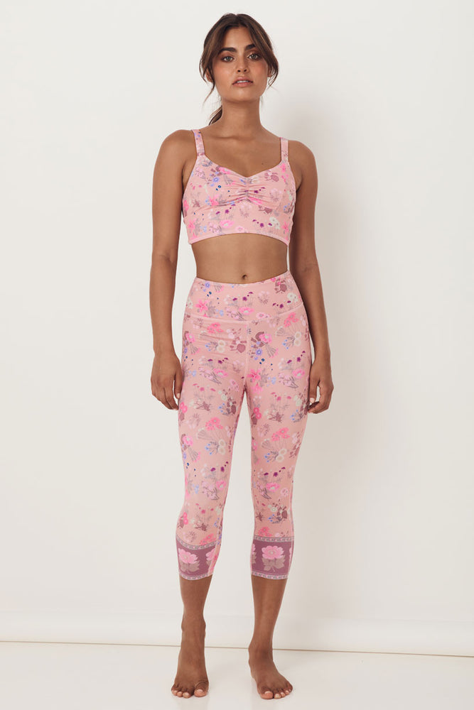 Wild Bloom 3/4 Leggings