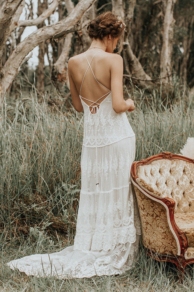 Canyon Moon Mesh Gown