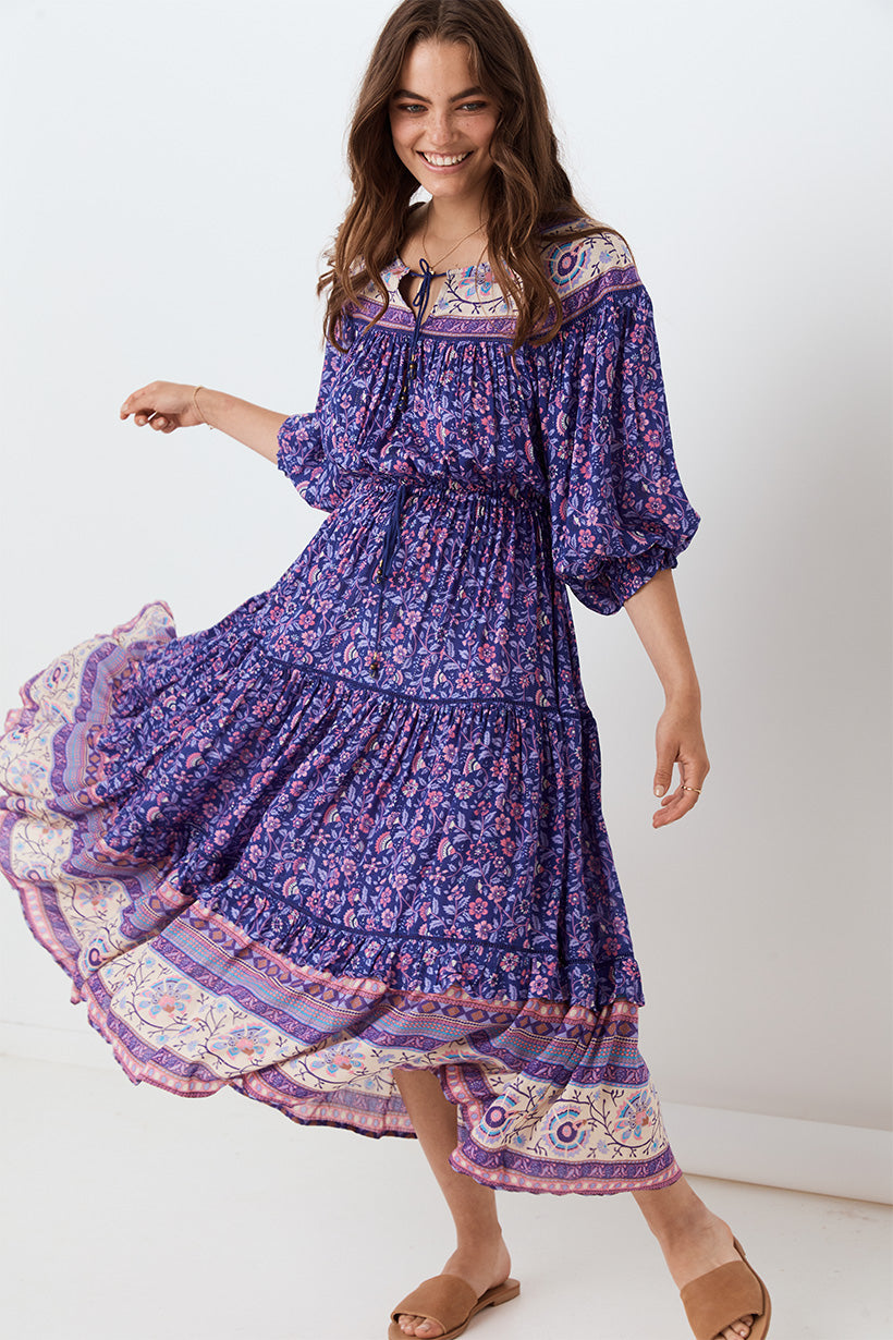 Spell Dahlia Gown Purple Haze