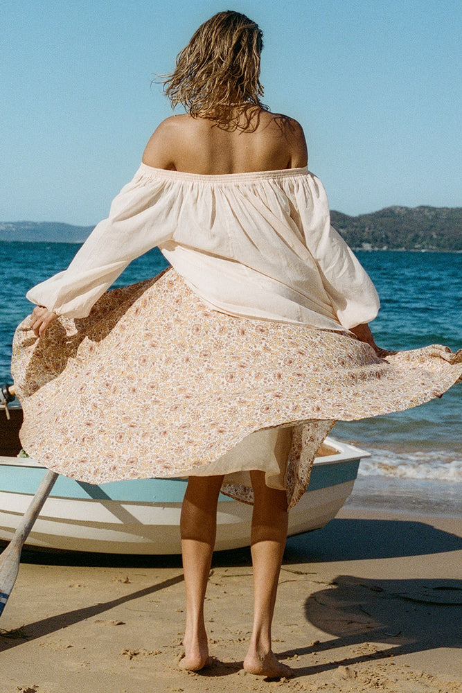 Sundown Kerchief Skirt
