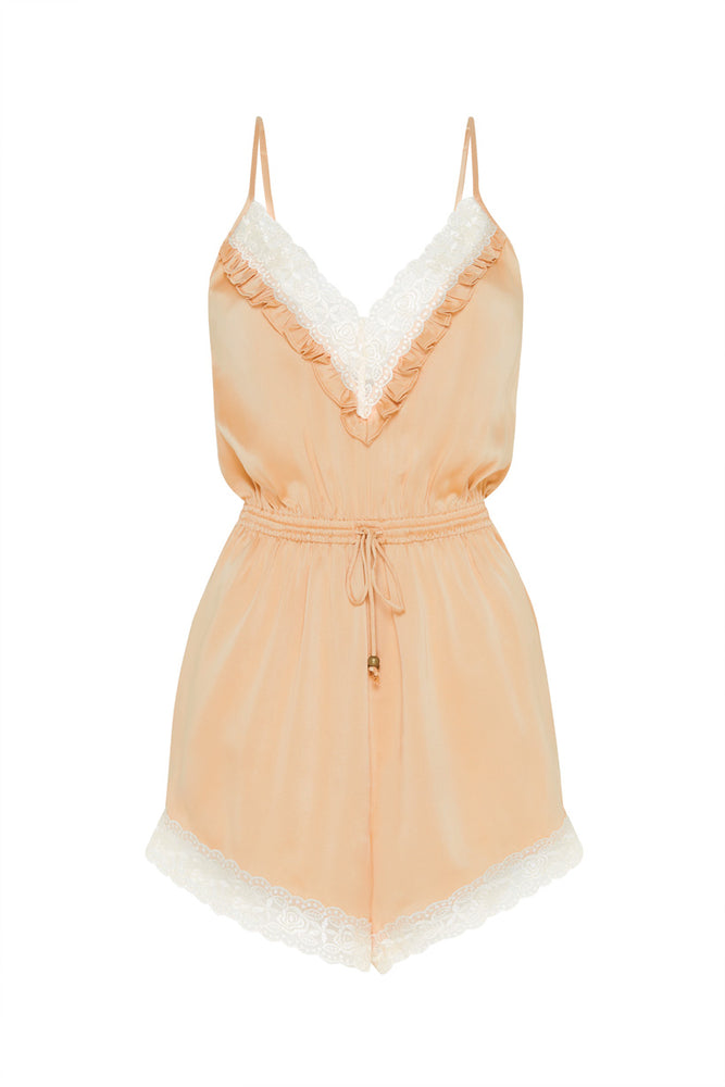 Wild Love Silk Romper