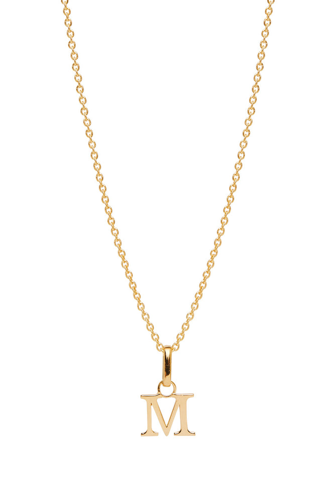 Wild Love Letter Charm Necklace - M