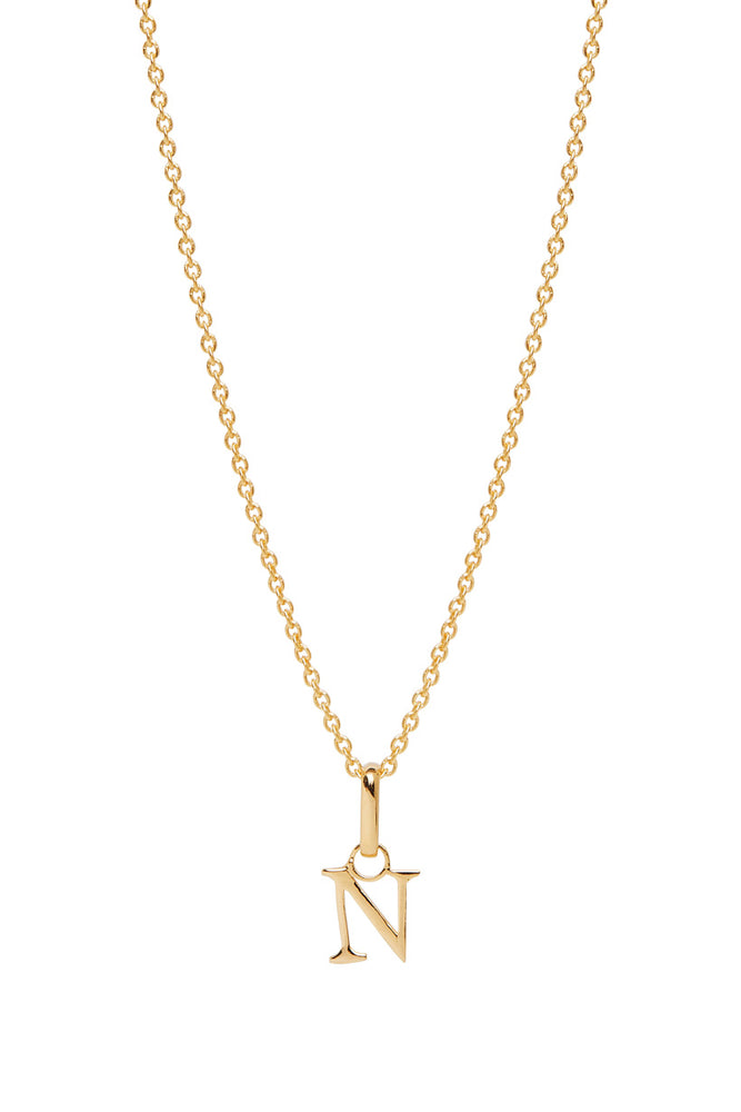 Wild Love Letter Charm Necklace - N