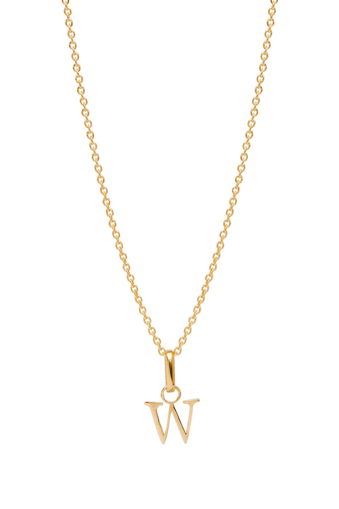 Wild Love Letter Charm Necklace - W