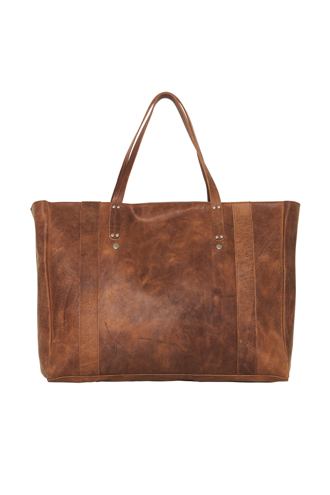 Savannah Leather Oversized Bag
