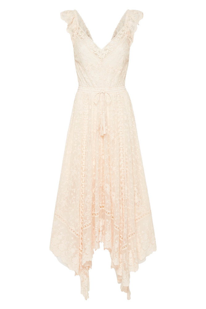 Le Gauze Lace Kerchief Dress