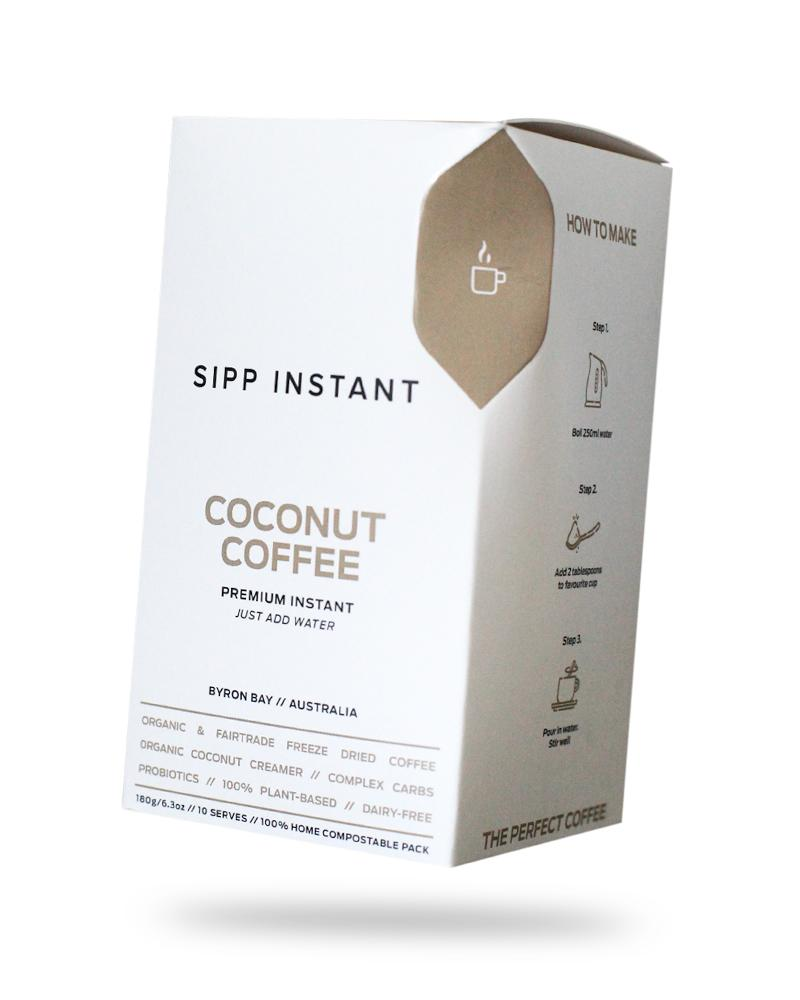 SIPP Coconut Coffee 250g