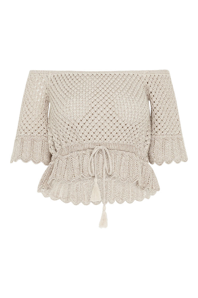 Atlantic Crochet Top