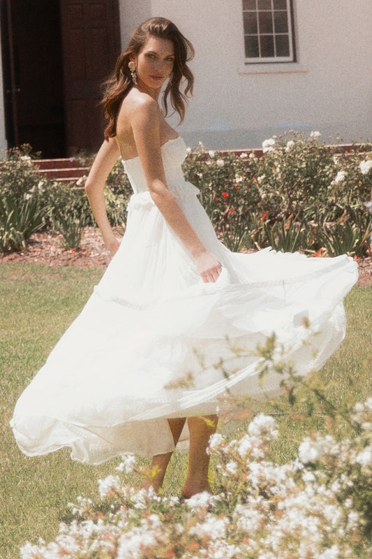Zoe Tulle Gown