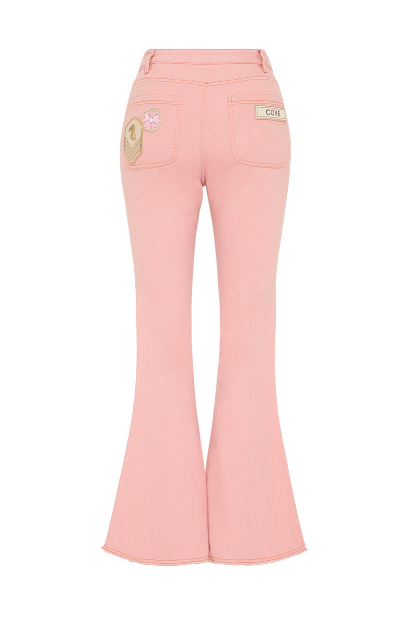 Spell Candy Denim Flares