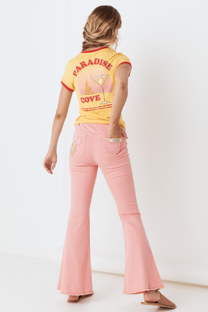 Candy Denim Flares