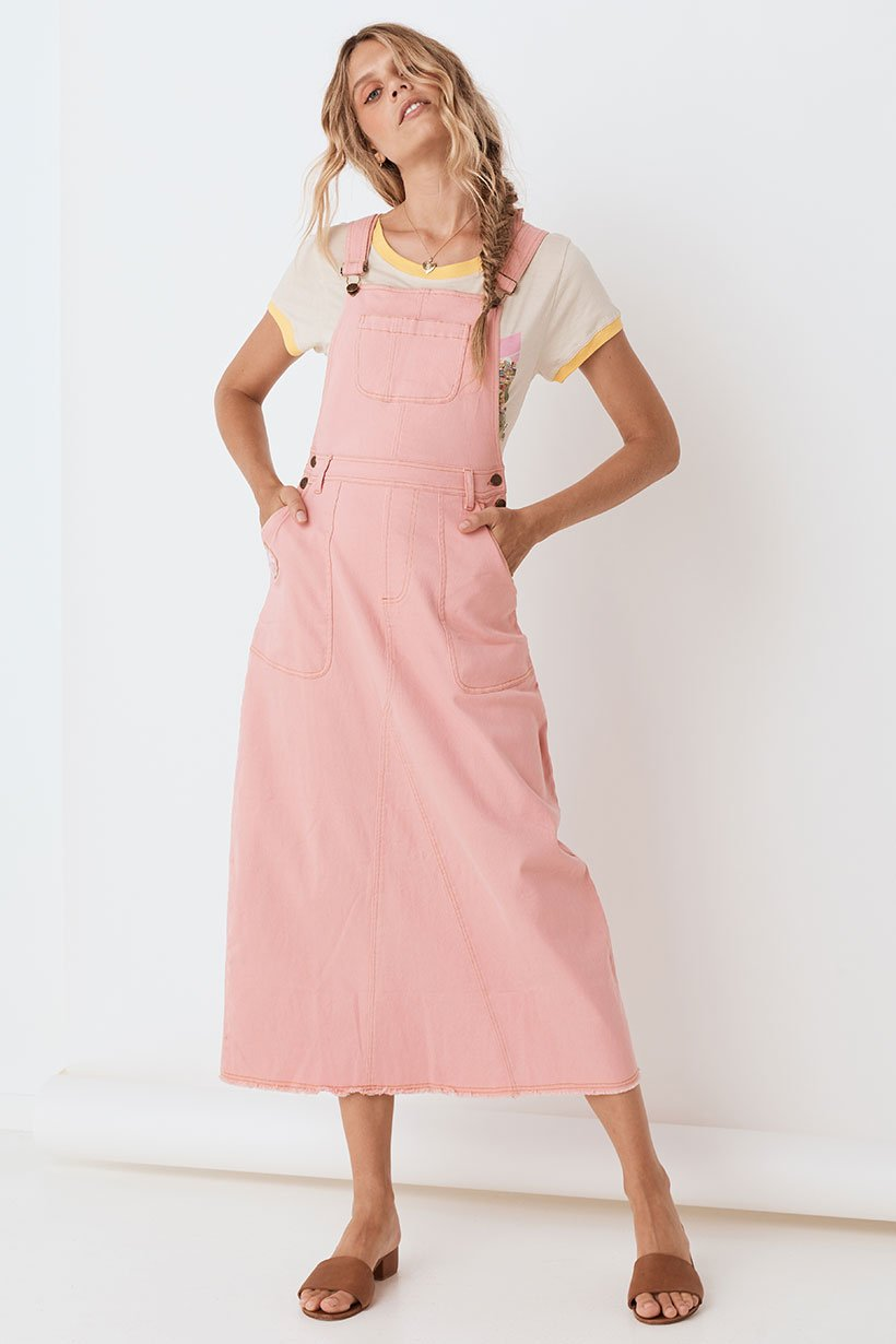 Spell Candy Denim Pinafore