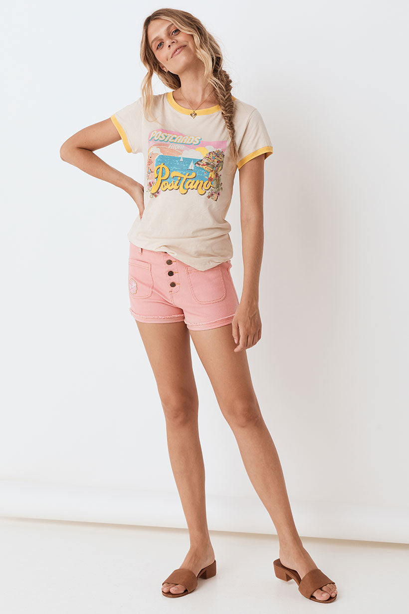 Spell Candy Denim Shorts