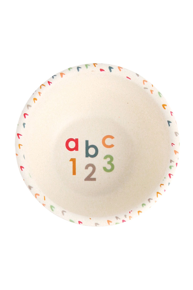 Spell Love Mae Divided Plate Set - ABC