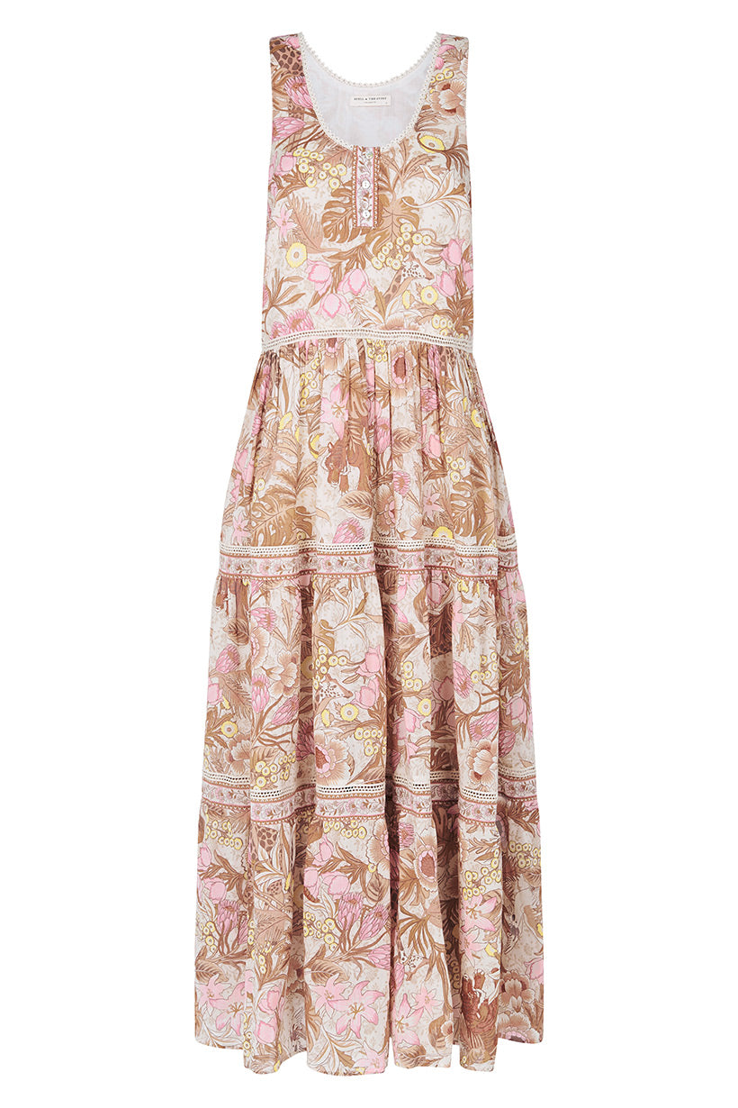 Spell Jungle Maxi Sundress #rollover