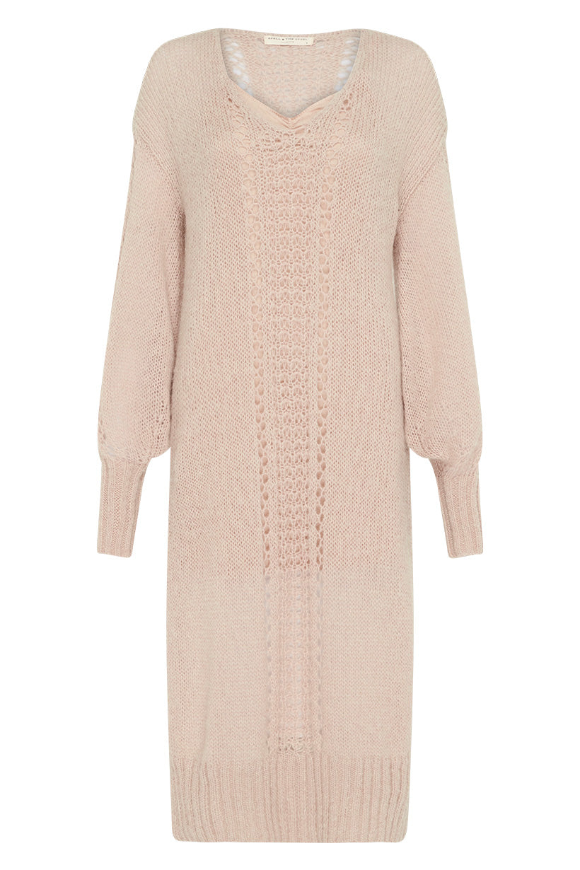 Spell Knit Midi Dress #rollover