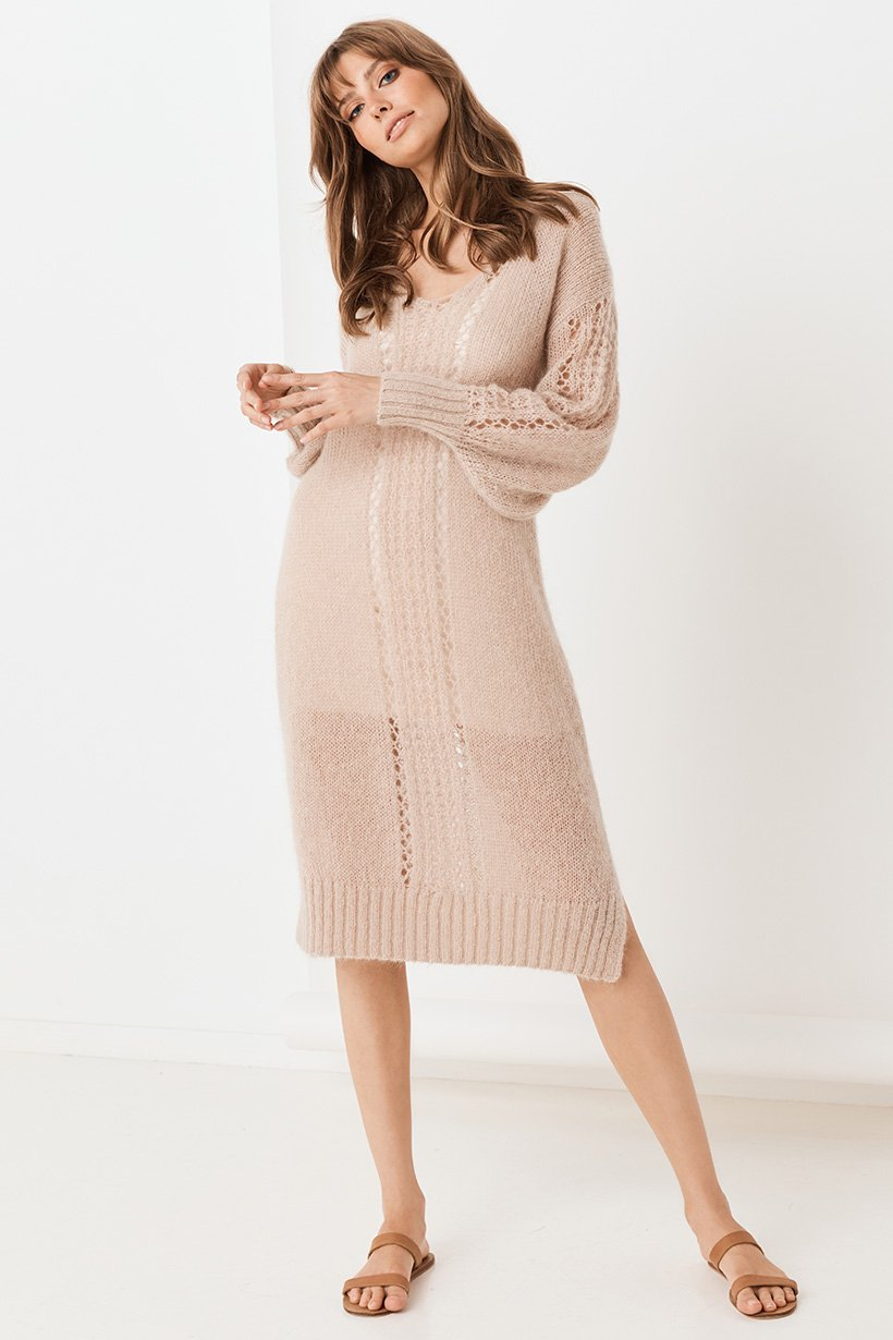 Spell Knit Midi Dress