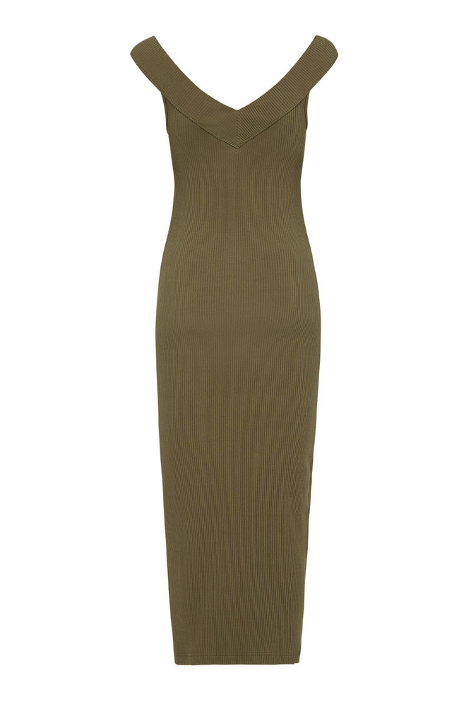 Mazzy Ribbed Dress