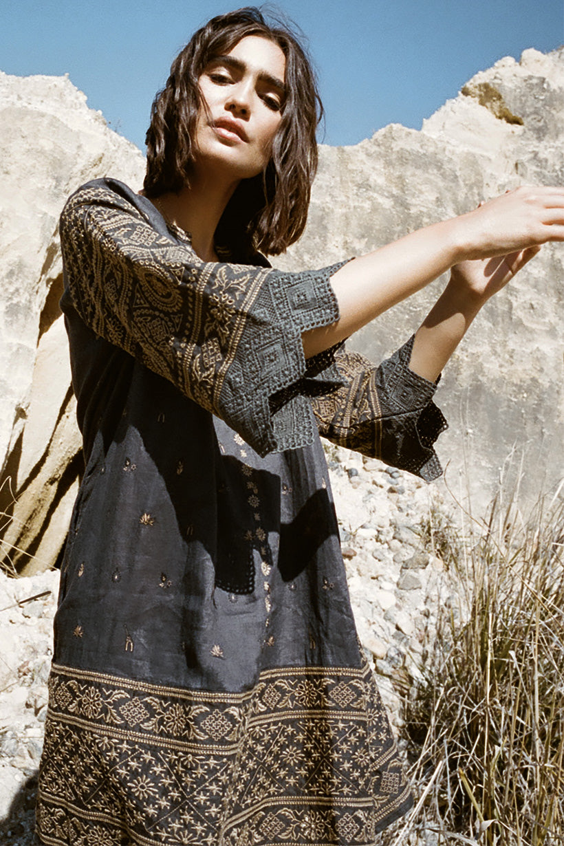 Spell Muwala Embroidered Tunic