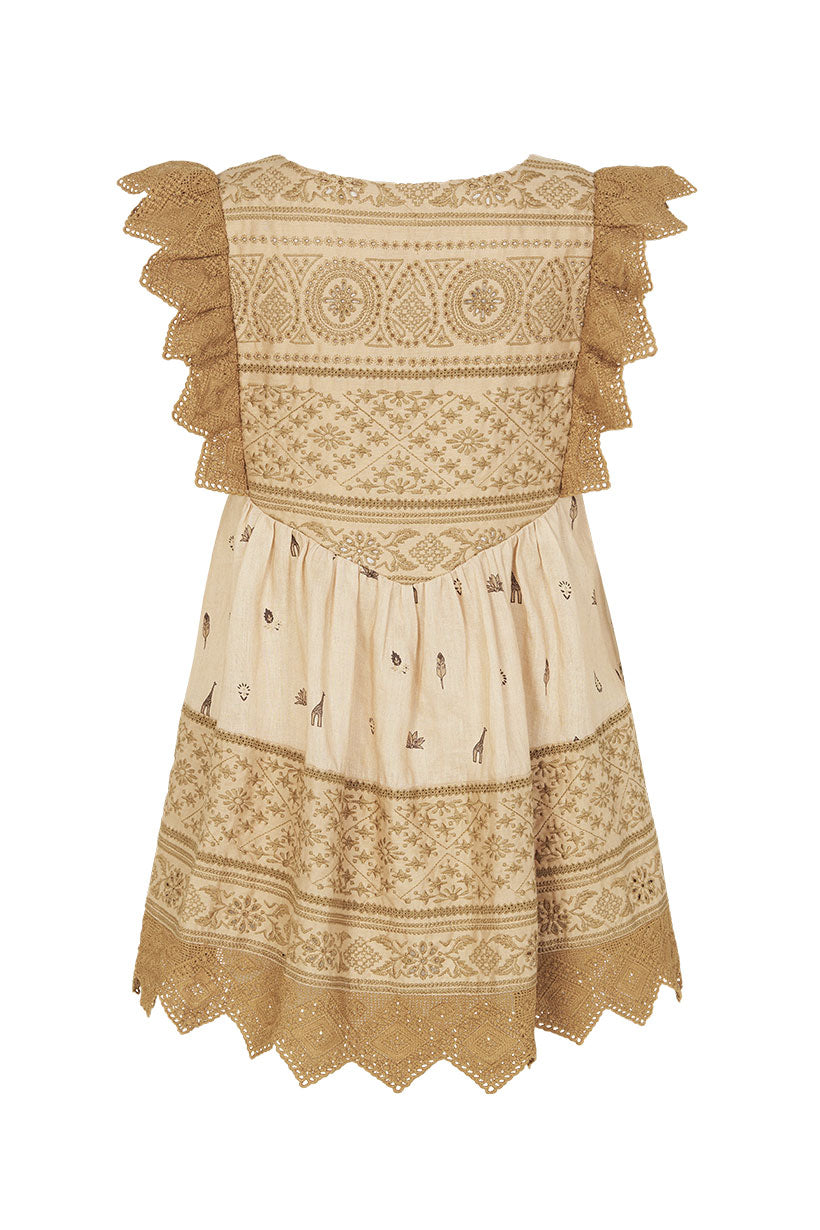 Spell Muwala Embroidered Sleeveless Blouse