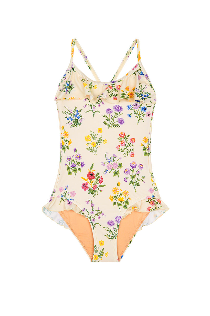 Spell Little Posy Frill One Piece #rollover