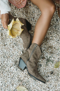Safari Suede Ankle Boot